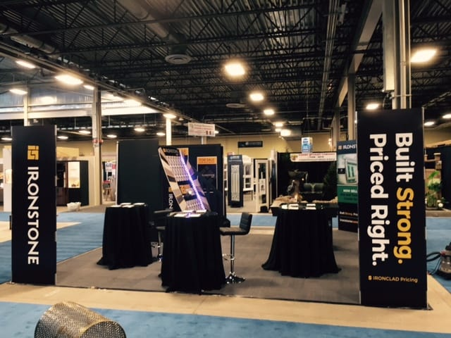 Image of Ironstone Convention Booth