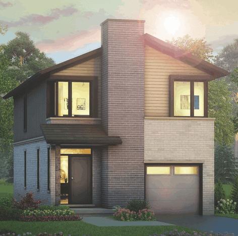 Image of Monterey Model Home Rendering