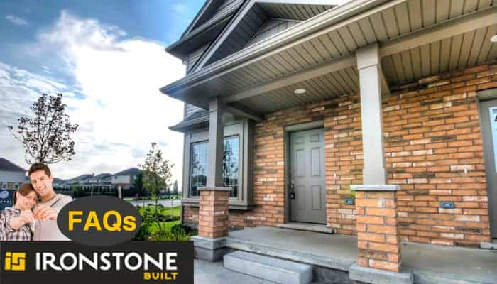 Image of Ironstone House and FAQ Callout