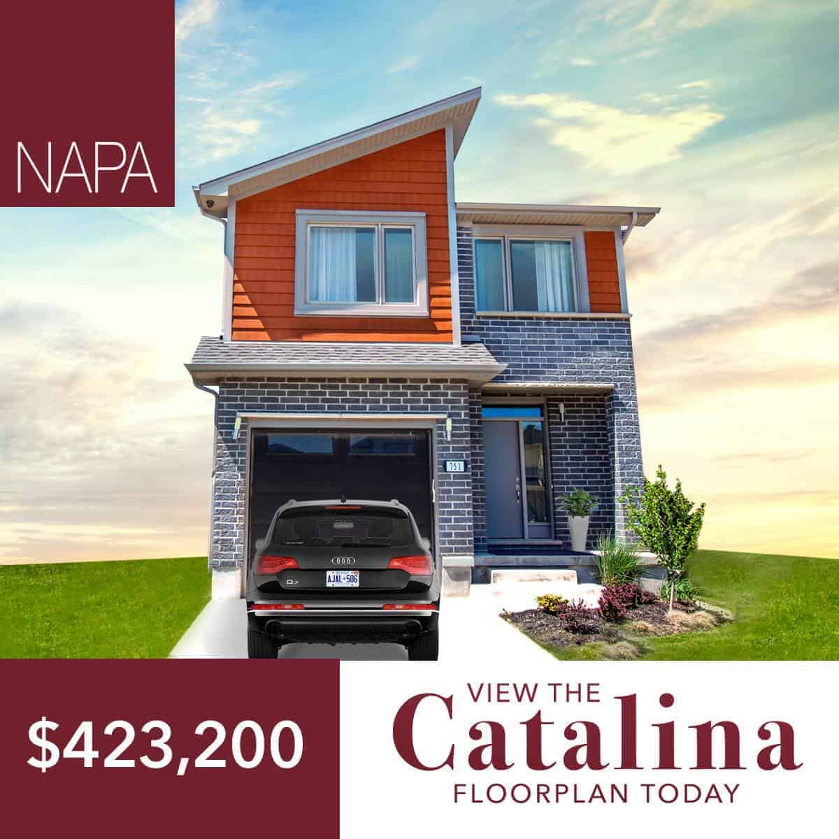 The Catalina New Home in London Ontario for $423,200