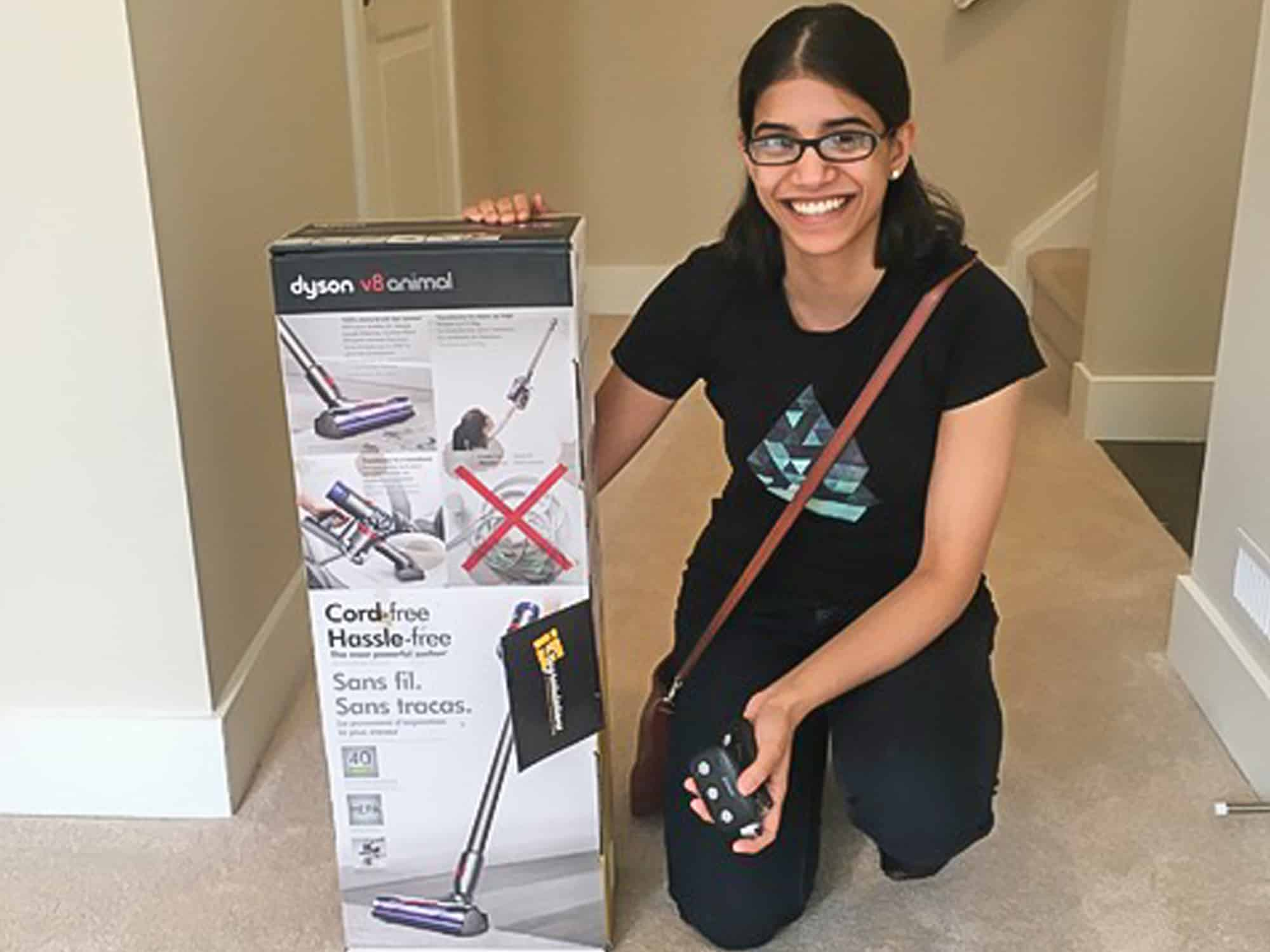 New Home owner with Dyson vacuum