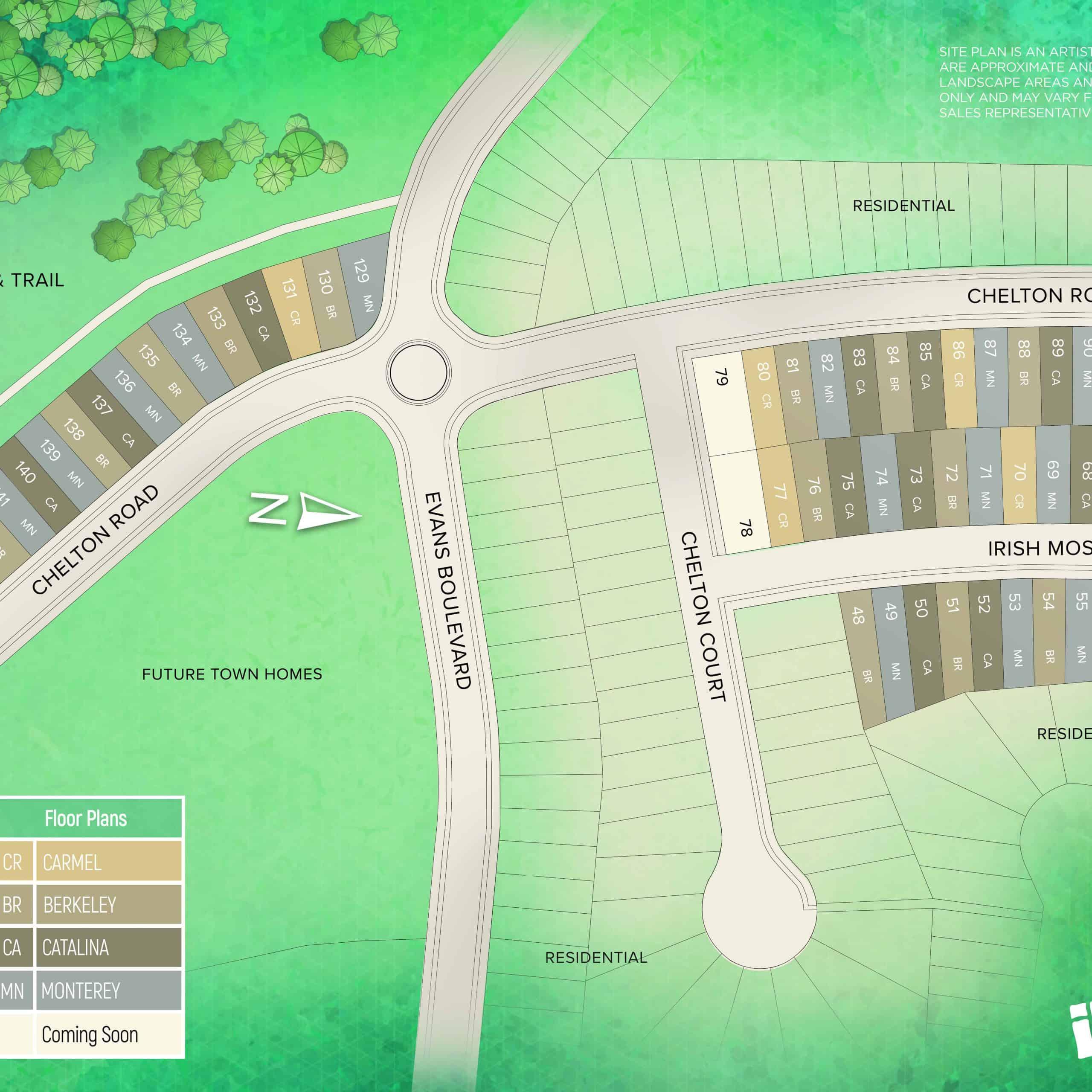 summerside trail siteplan